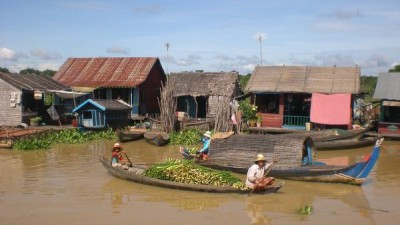 TONLE SAP LAKE HALF DAY - DISCOVER FLOATING VILLAGE